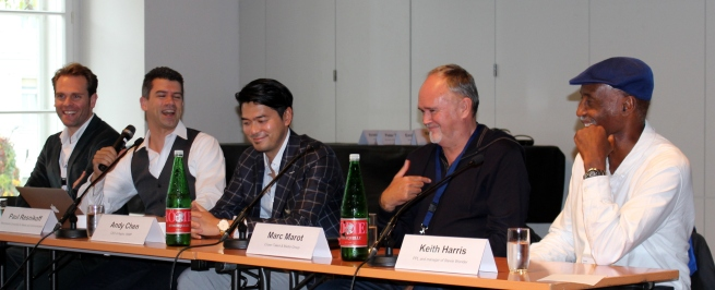 Panel discussion - Drücke, Resnikoff, Chen, Marot, Harris