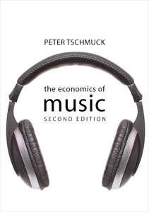 Book cover - Economics of music 2nd edition